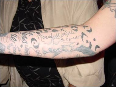 Marshall Lytle's (Comets) Crazy Lytle Page (Updated) TattooedMarshallArm