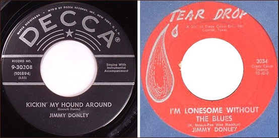 Jimmy Donley - I'm Alone / Radio, Jukebox and T.V.